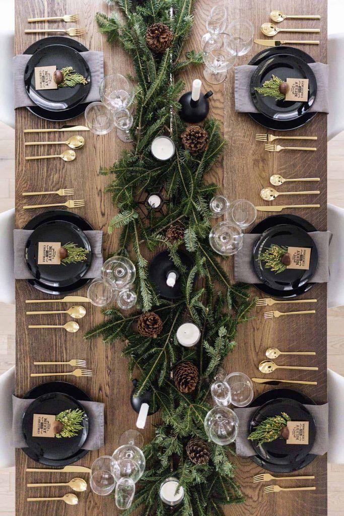 Über 25 Ideen für Ihre ultimative Tischdekoration zu Weihnachten