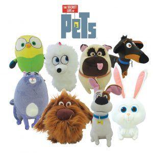 Secret Life Of Pets Plush Toys Licensed Soft Stuffed Teddy