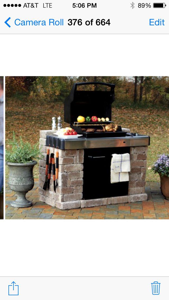 Diy Build Around Bbq Outdoor Bbq Built In Bbq Outdoor Grill