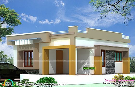₹10 lakhs budget house plan in 2020 | House plans, Kerala ...