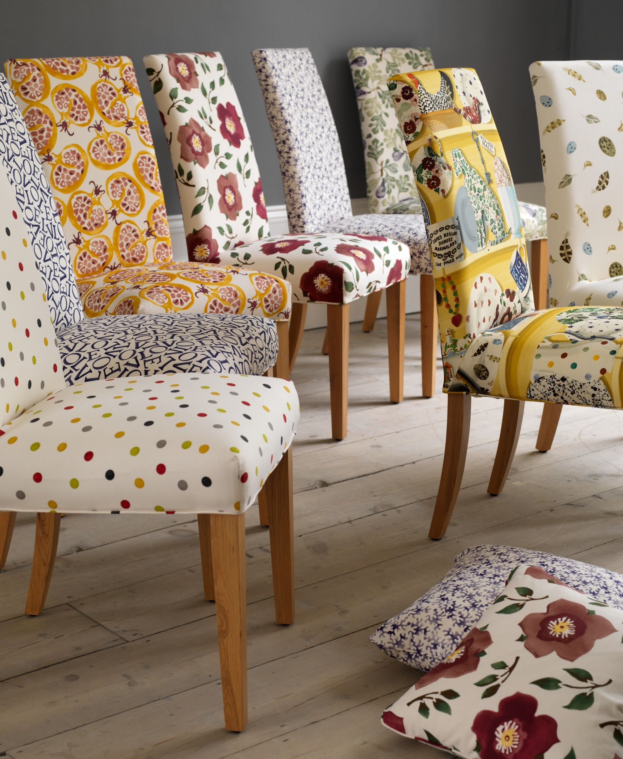 Our most popular Dining Chair, the Ely. Available with a