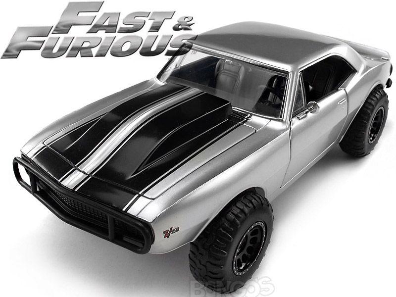 Fast Furious Roman S Chevy Camaro 1 24 Scale Jada Diecast