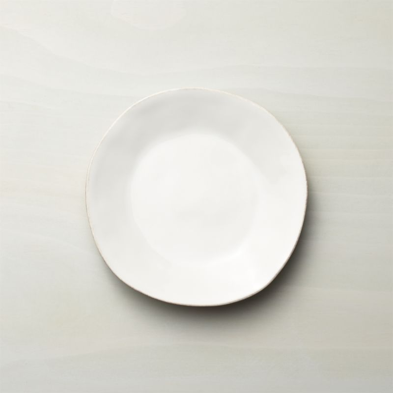 Marin White Salad Plate | Crate And Barrel
