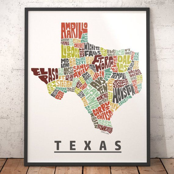 Texas map art, Texas art print, Texas typography map, map of ... on round top texas, brownwood texas, baytown texas, la grange texas, freeport texas, athens texas, irving texas, temple texas, counties in texas, best places to live in texas, vernon texas, grand prairie texas, bastrop texas, sherman texas, college station texas, native americans in texas, lubbock texas, orange texas, katy texas, pharr texas,