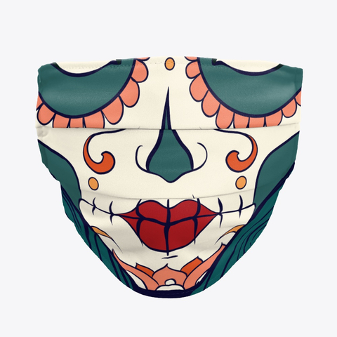 Protection mask mexican skull smile cloth face mask for