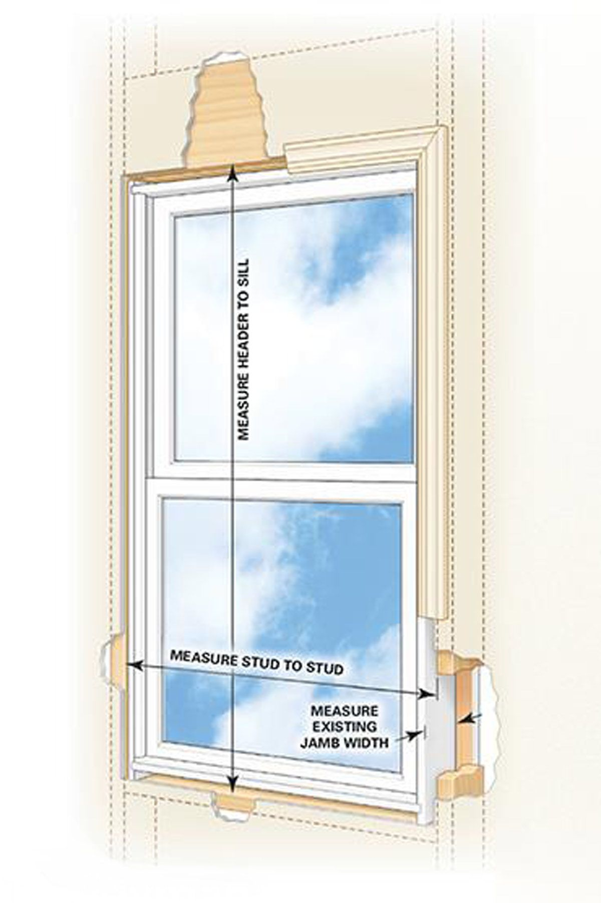 How to install a window diy window replacement vinyl