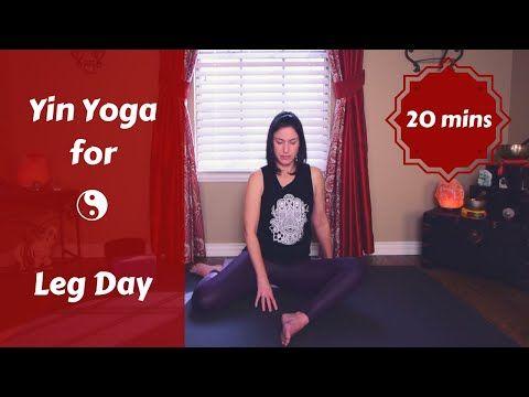 yin yoga for leg day  quads hamstrings it bands 20