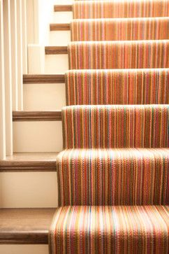 Louis De Poortere Runner Floor Design Striped Stair Runner Carpet Stairs