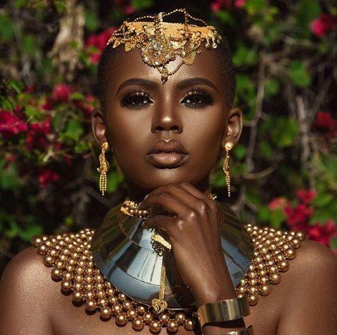 melanin monday  african makeup queen makeup natural