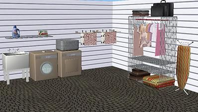 Mod The Sims Laundry Room Set Room Set Laundry Room Sims