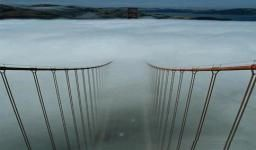 San Francisco - Golden Gate In Clouds - Interesting Places to Visit - Top Vacation Travel Destinations