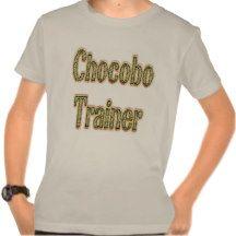 Chocobo Trainer Gold Tshirts #Ecommerce #Smallbiz #Style #DWW25921 #Shopping #Kids #Shirt #Nerd #Geek