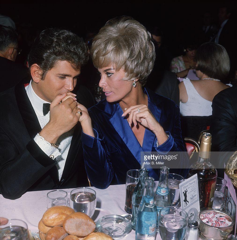 American Actor Michael Landon And His Wife Marjorie Lynn Noe