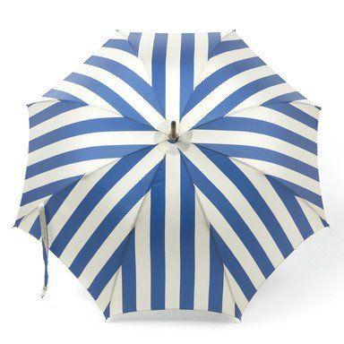 Striped umbrella