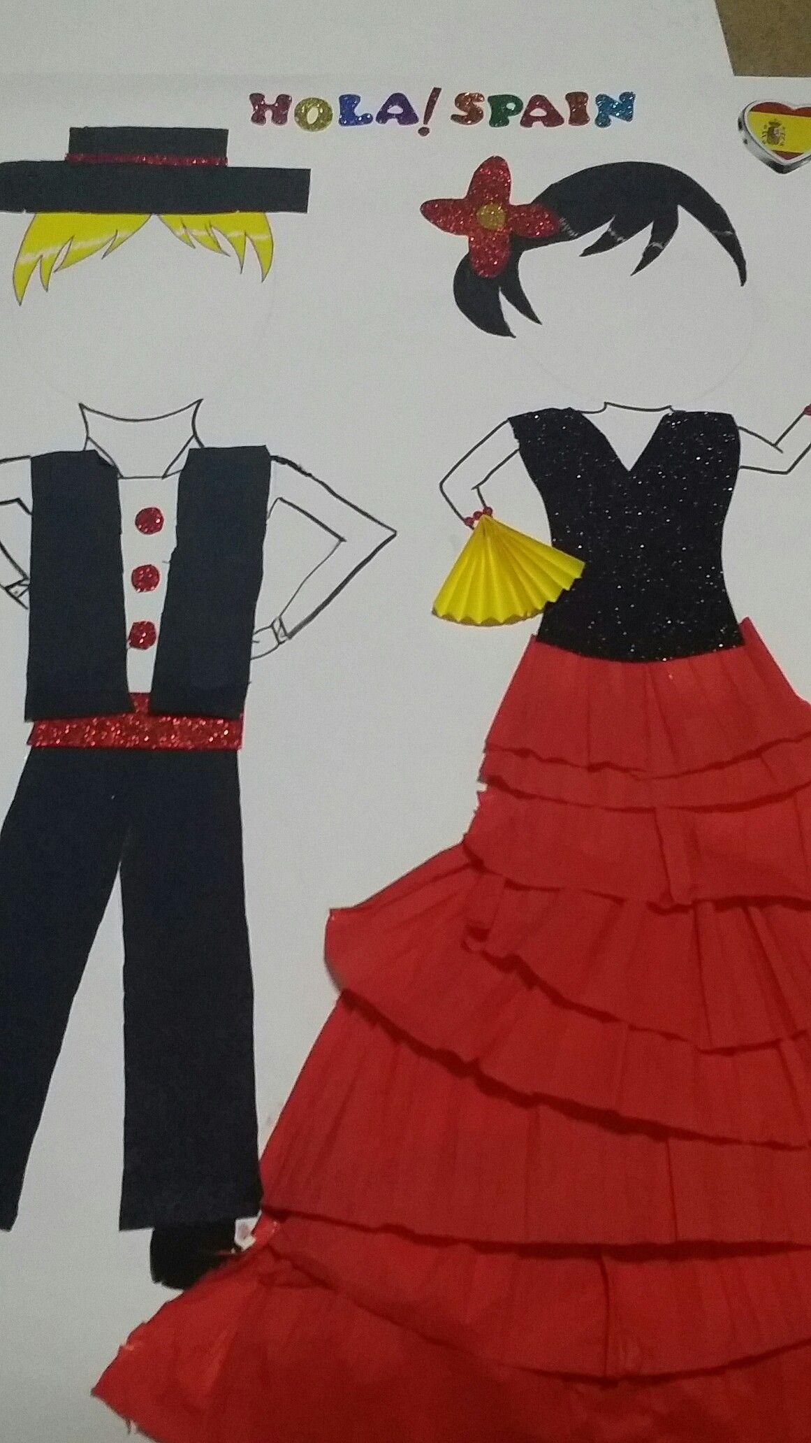 Spain Crafts For Kids Espanol Spain