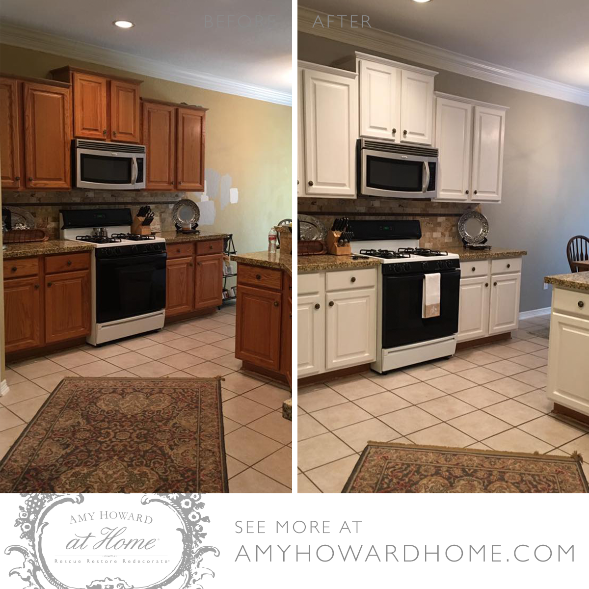 A Wow Worthy Kitchen Makeover That You Can Do In A Weekend Catch The Free Diy Tutorial To Find Out Out How Yo Refinishing Cabinets Diy Furniture Hacks Cabinet