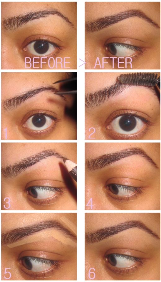 This Is The Exact Process I Use For My Brows But You Must Know That