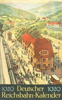 Reichsbahn-Kalender 1929