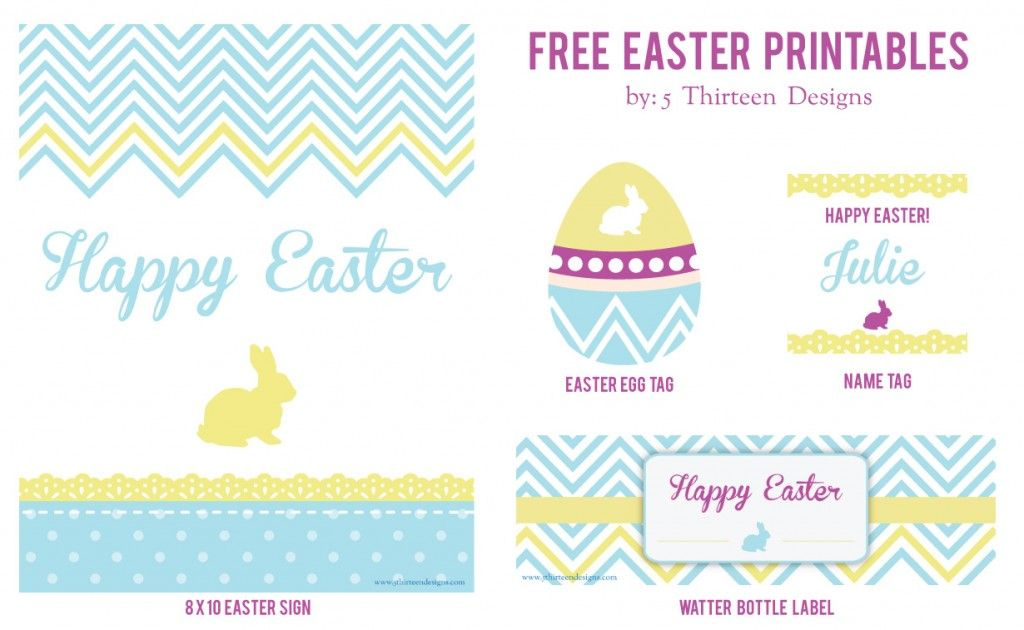 Free easter printable sign free easter printable water bottle free easter printable sign free easter printable water bottle favor tag negle Image collections