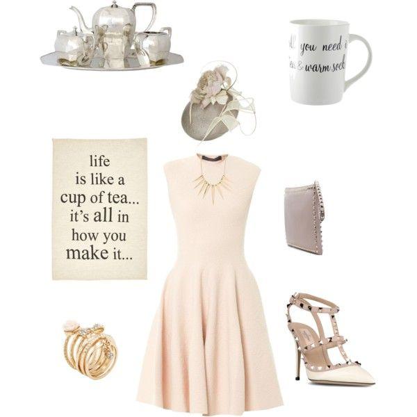 Birthday Dress Code Ideas: Drool Worthy Wednesday: Tea Party Attire #fashion #style