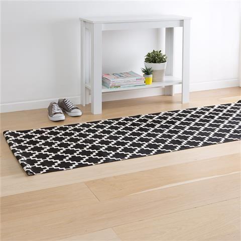 Floor Runner Black Diamond Kmart 19 00