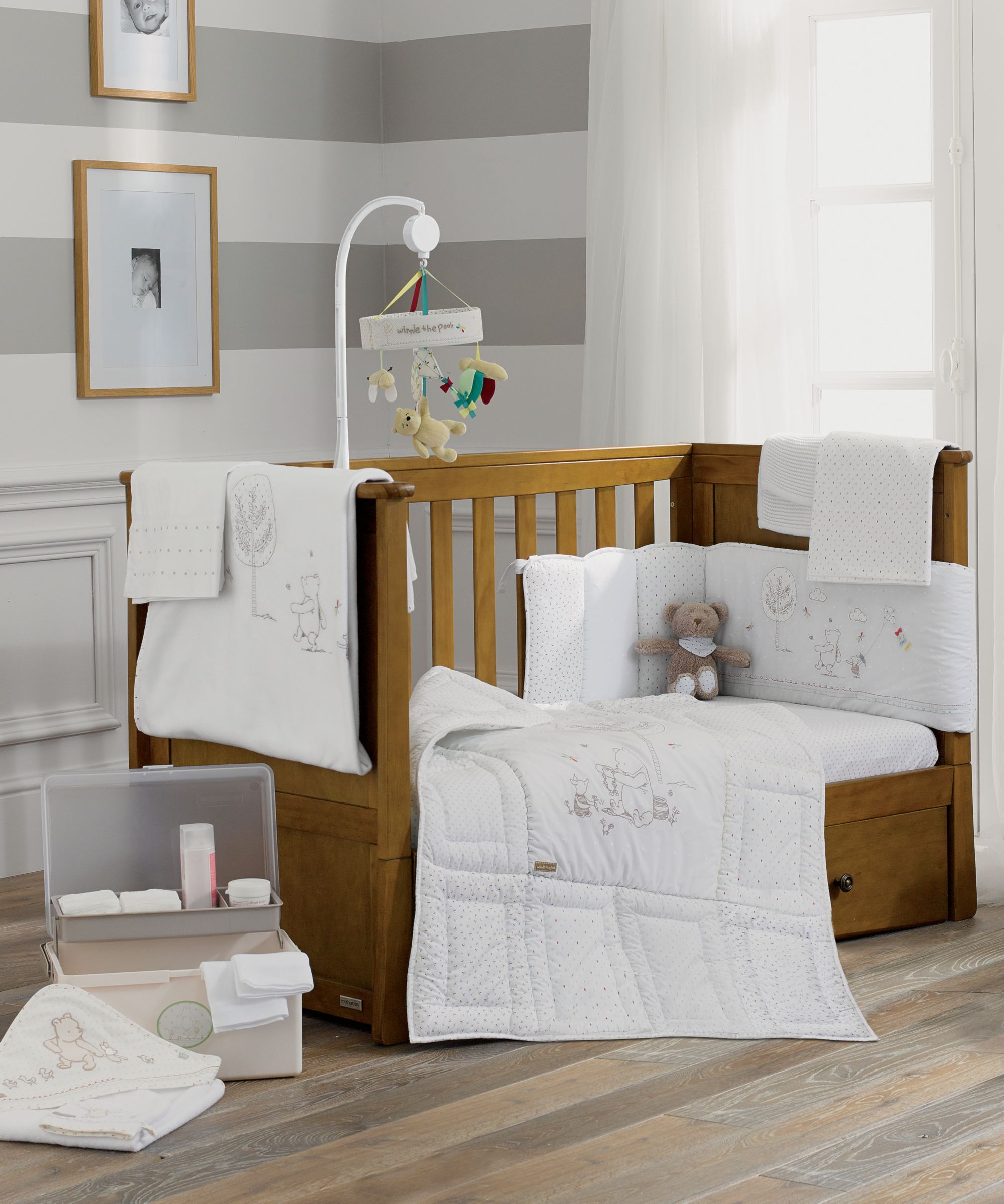Mothercare Classic Winnie Pooh Bedding Collection