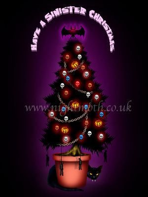 Twisted gothic and alternative christmas cards from night moth twisted gothic and alternative christmas cards from night moth m4hsunfo