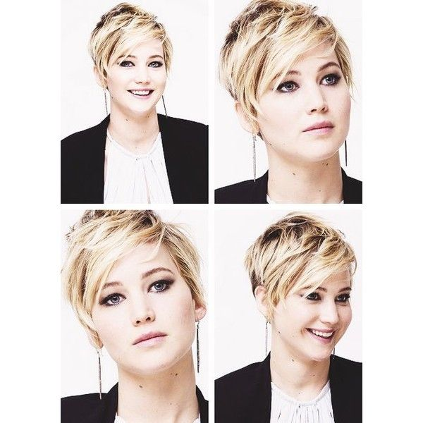 I'm not chopping my hair this short, but I love Jennifer Lawrence's new haircut. | See more about short hair, jennifer lawrence and haircuts.