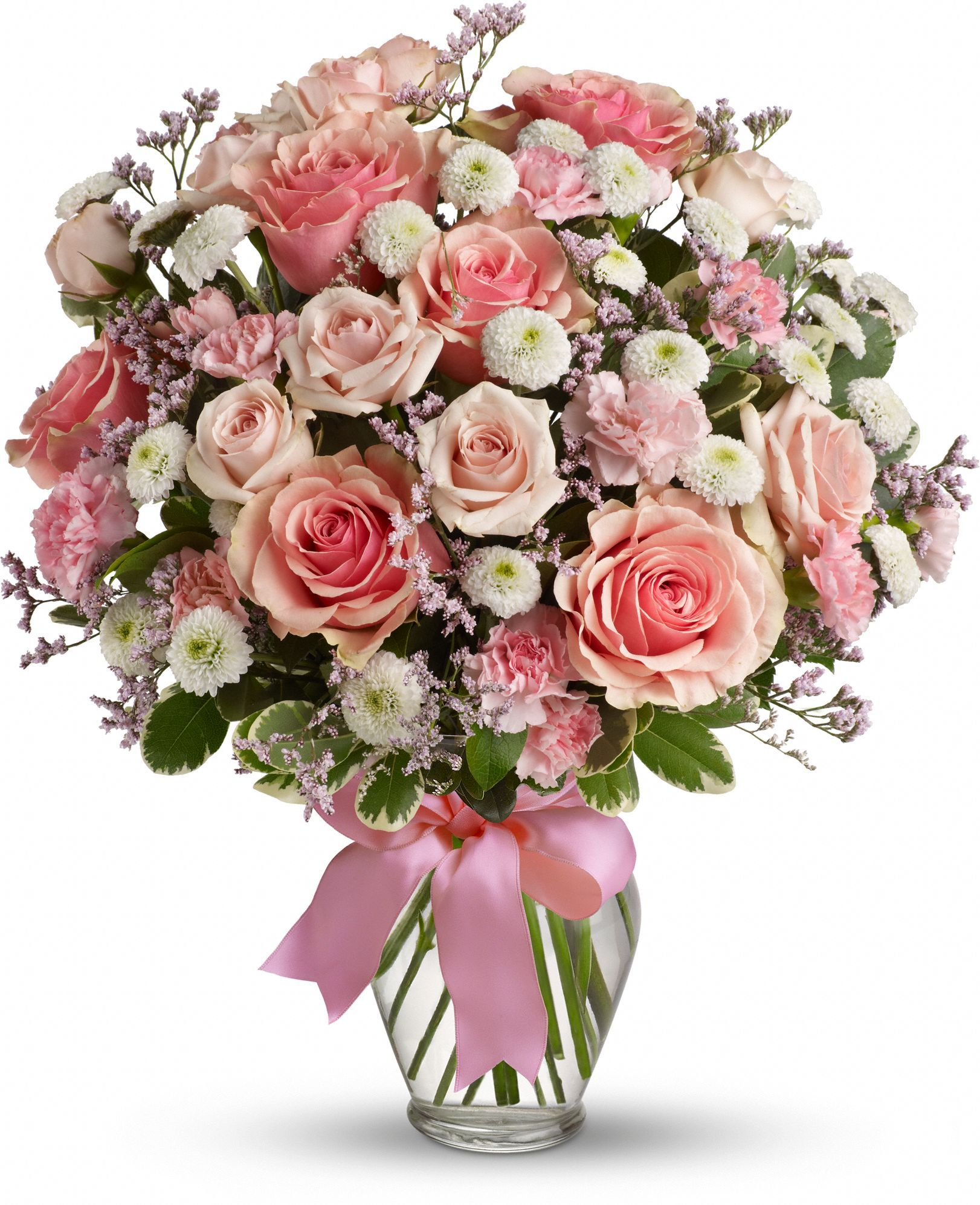 Cotton Candy With Roses Save 25 On This Bouquet And Many Others With Coupon Code Tfmdayok1b2 Offer Expires 05 14 Flowers Flower Arrangements Beautiful Flowers
