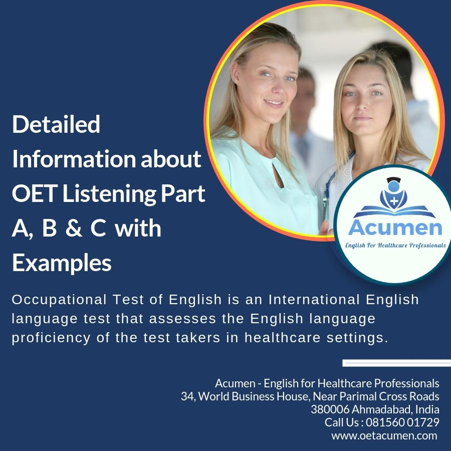 Pin on Occupational English Test - OET