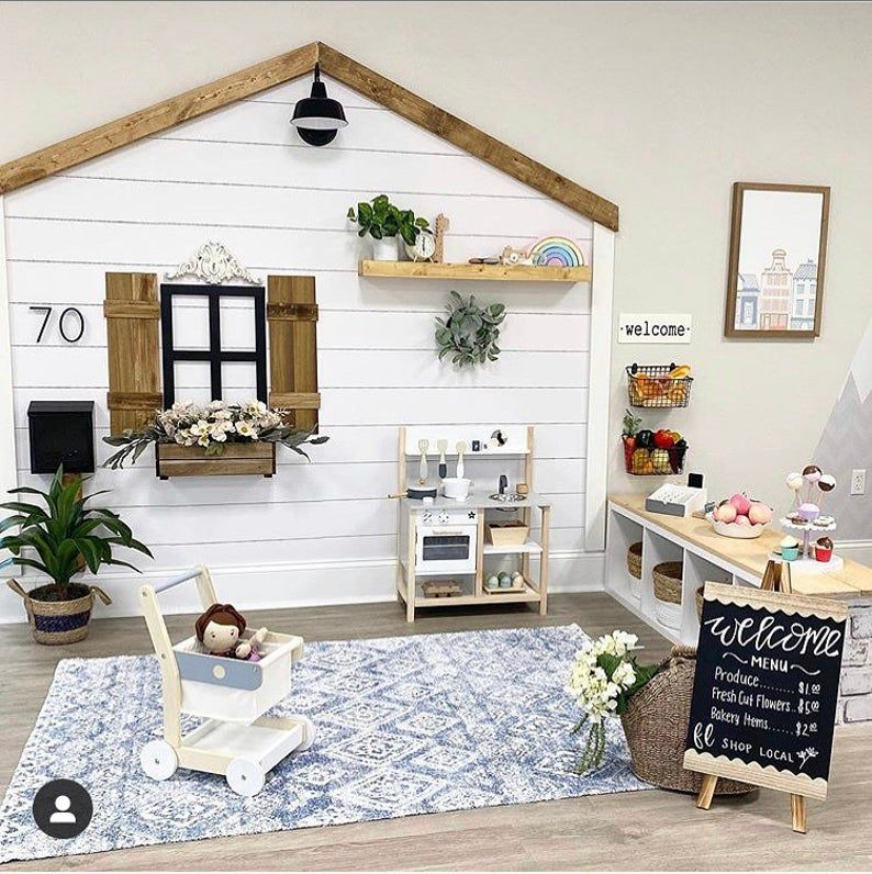 Shiplap, FARMHOUSE Style, removeable wallpaper, peel and