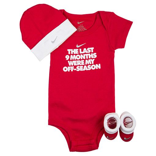 10f9bc1904fde Infant Nike Off Season 3-Piece Box Set