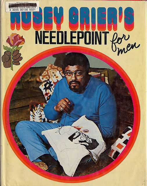 Rosey Grier's Needlepoint <3