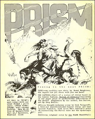 Image result for bernie wrightson fanzine art