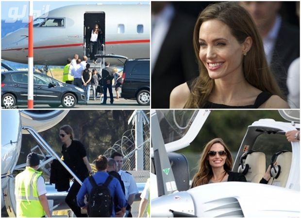 الطائرات الخاصة بأعلى ممثلي هوليوود أجرا أنجلينا جولي Quadcopter Vehicles