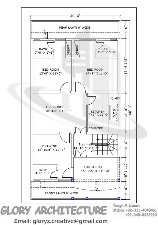 30x60 house plan g 15 islamabad house map and drawings khayaban e kashmir islamabad house House map drawing