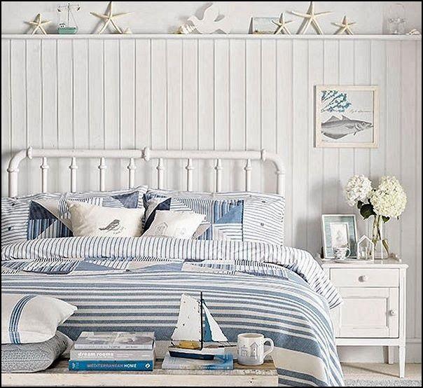 beach bedroom decorating ideas coastal themed bedrooms - Coastal Living Decor