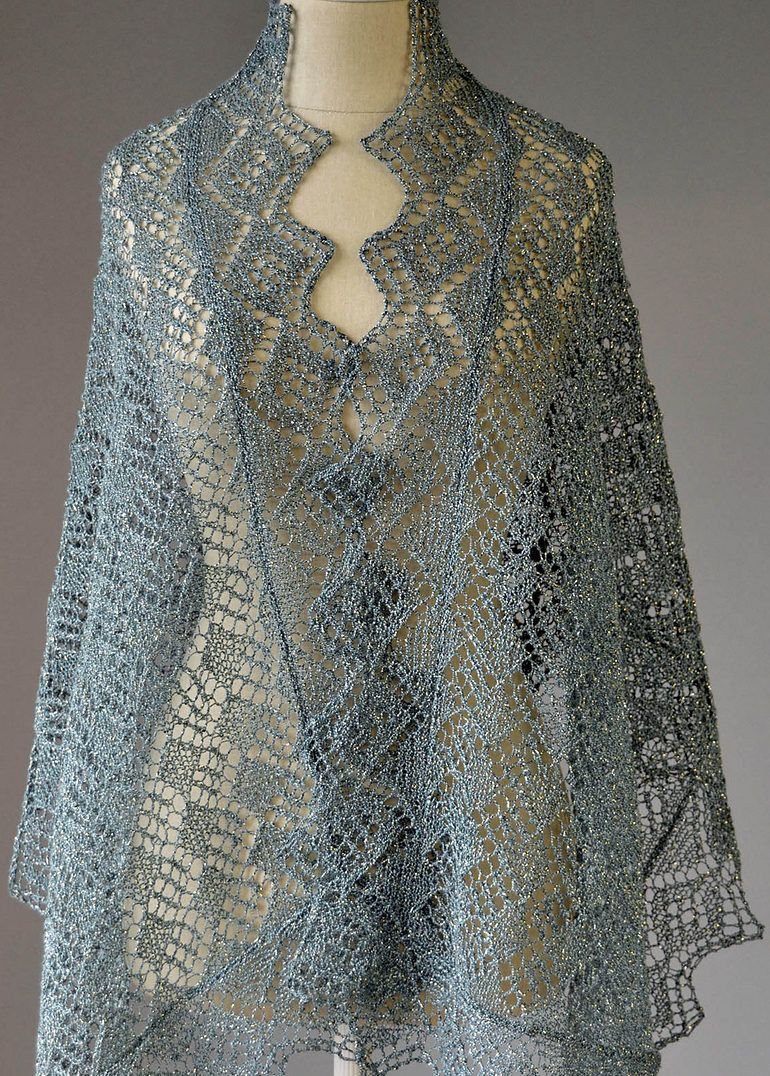 Lace Shawl and Wrap Knitting Patterns | Knit patterns, Whimsical and ...