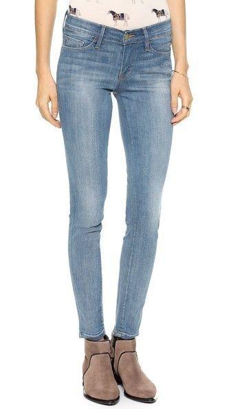 c9998ceeaf8 FRAME DENIM NWT Women s Linden Designer Slim Le Skinny Jeans Pants 24   FrameDenim  SlimSkinny