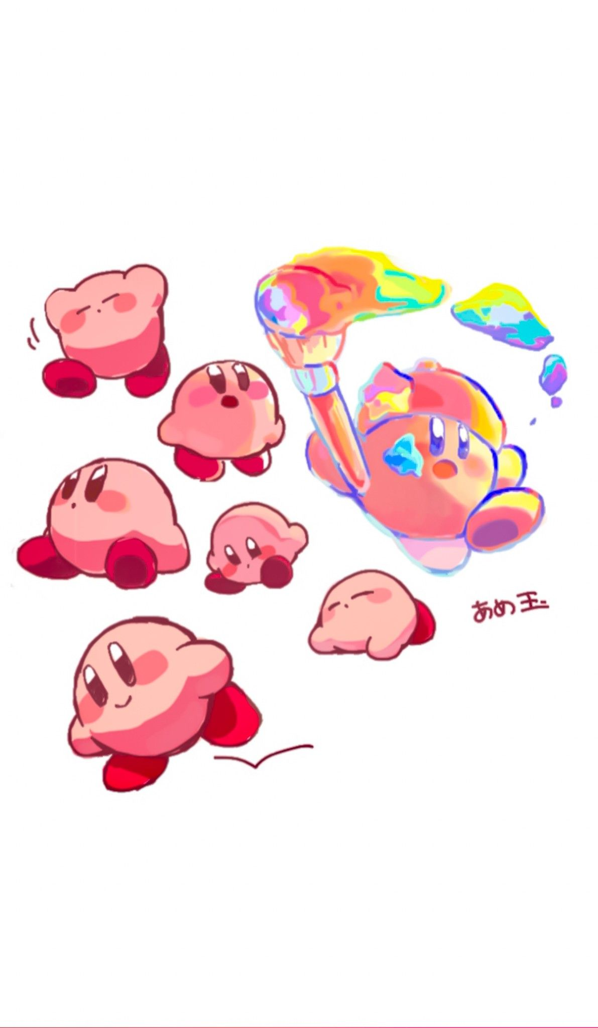 Pin on Kirby of the Stars