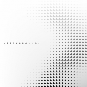 Abstract White With Triangle Halftone Pattern Texture Png And
