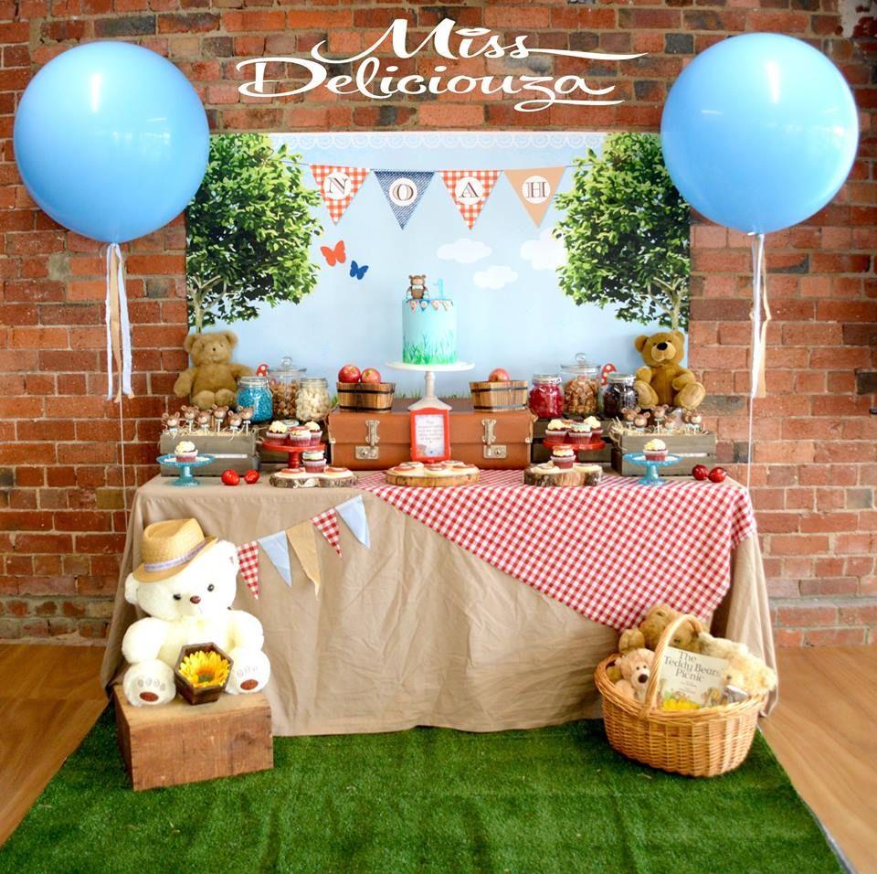 A Sweet Teddy Bear's Picnic Party