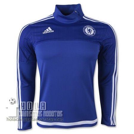 Adidas Camisetas De Entrenamiento 1 4 Zip Azul Chelsea 2016 €24.9 ... 50a30dca5af