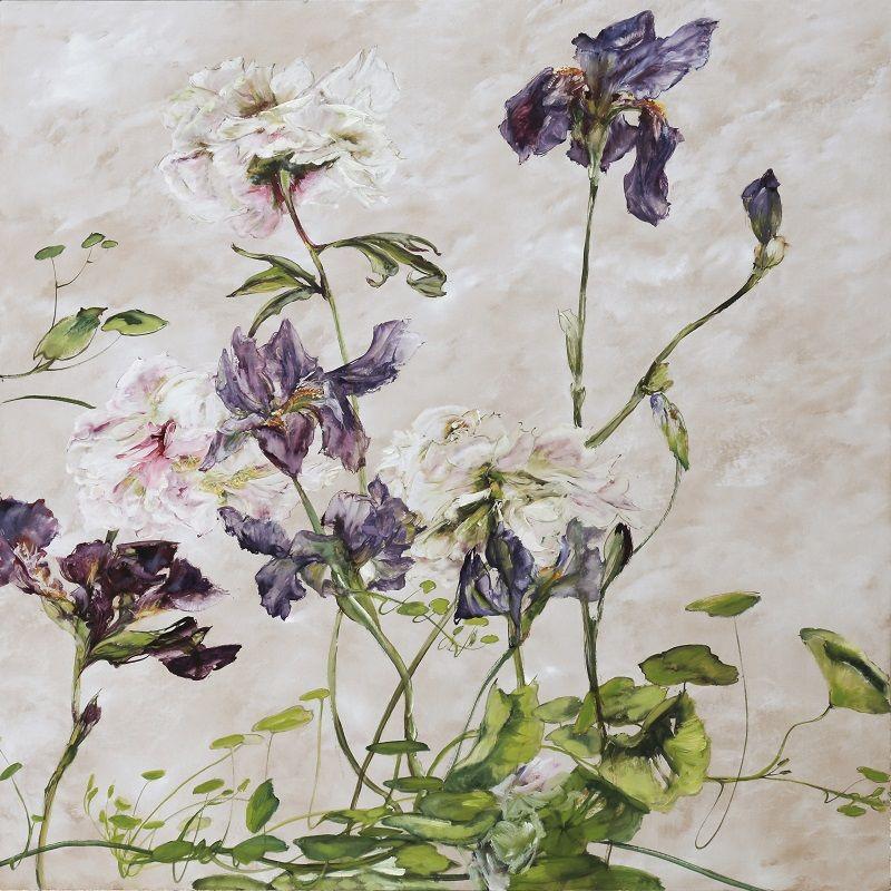 HUILE SUR PAPIER – Claire BASLER | Peinture