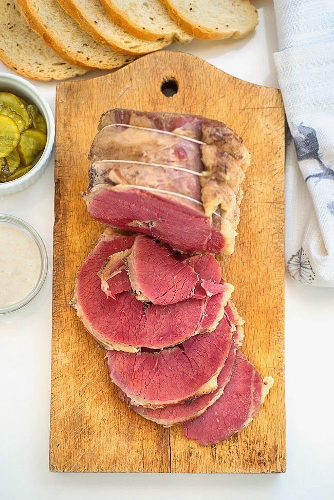 Homemade salt beef recipe