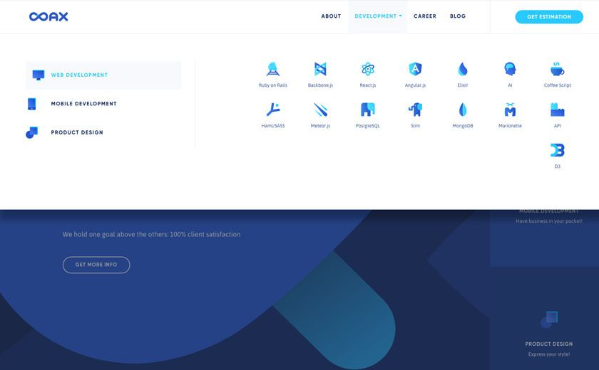 The Best Designs Web Design Inspiration Coax Software In 2020 Web Design Inspiration Web Design Web Design Examples