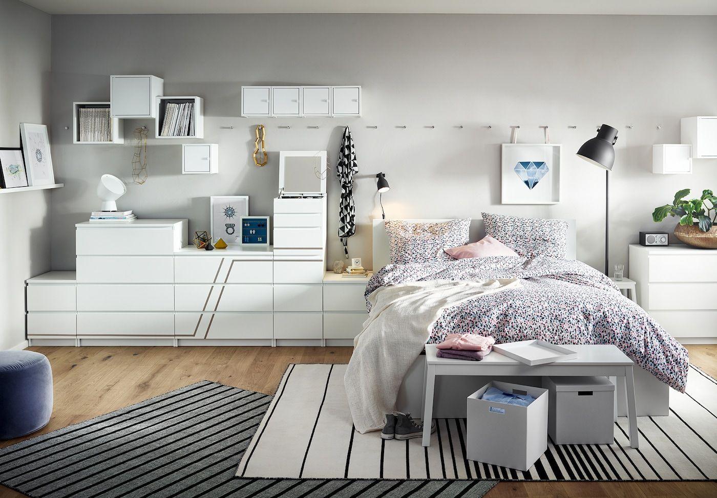 Malm Schlafzimmer Serie In 2020 Ikea Schlafzimmer Ikea