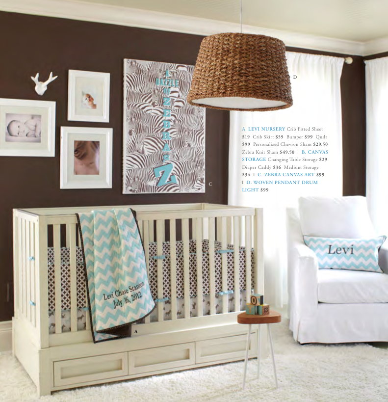 Pottery Barn Kids Fall 2012 Collection Nursery Ideas