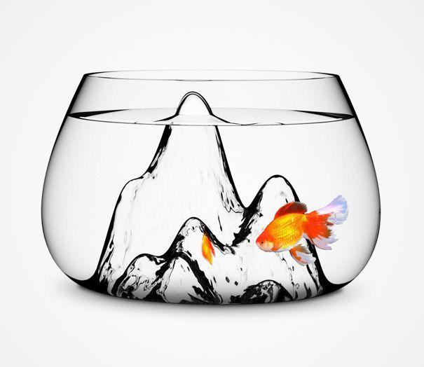 22 Unusual And Creative Aquariums Fish Bowl Glass Fish Bowl Goldfish Bowl