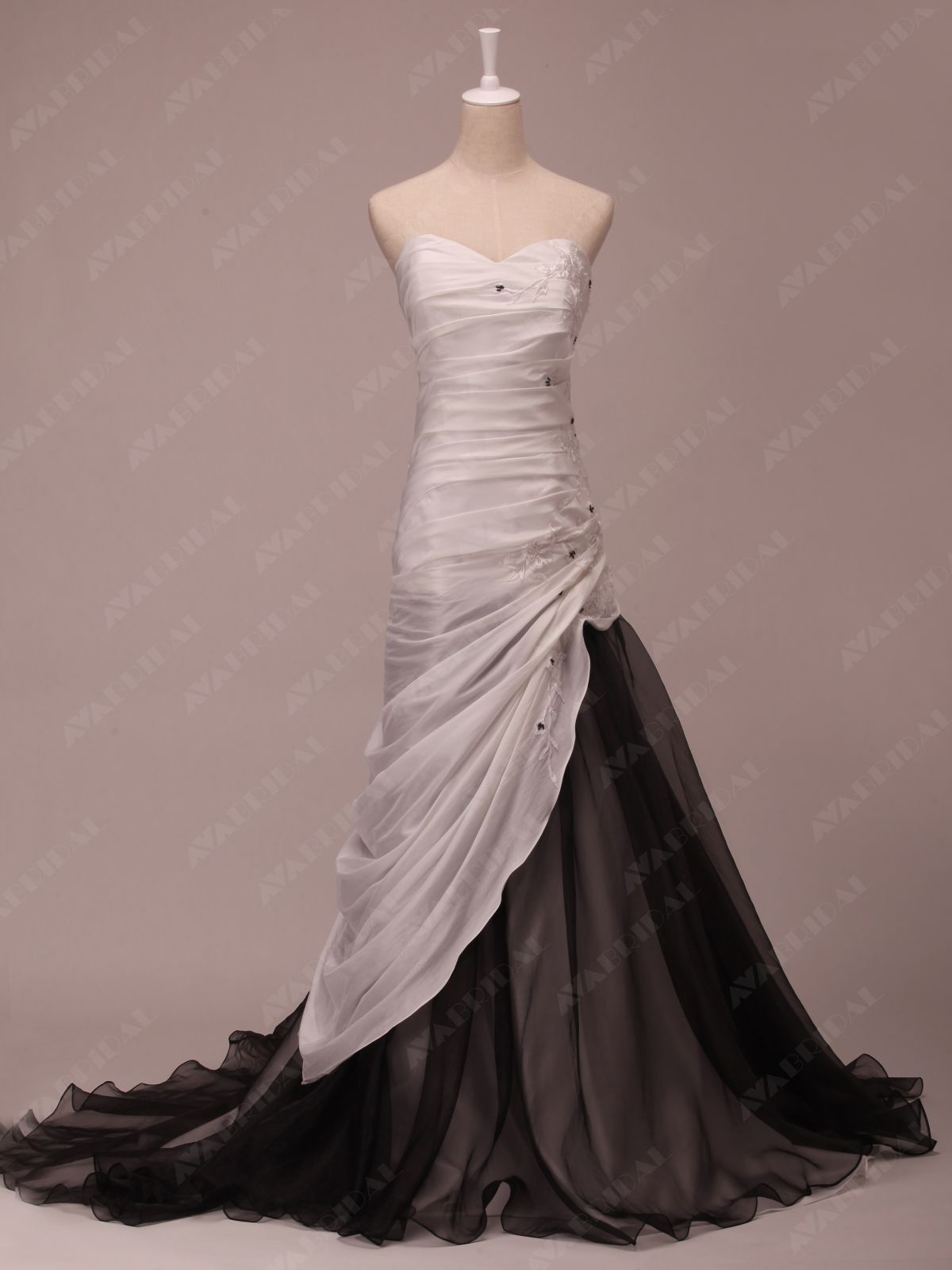 Champagne colored wedding dress  Colored Wedding Dress Ava BridalAlthough I would rather the black
